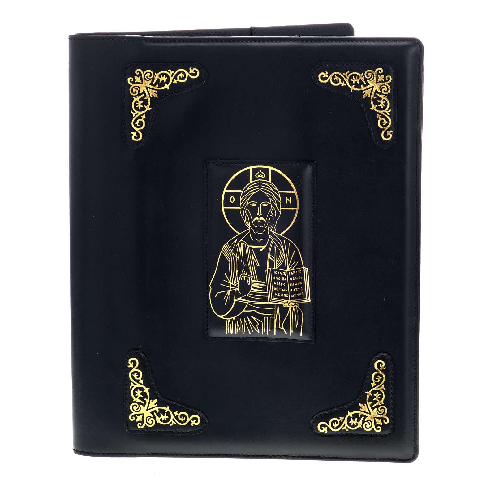 Messbuch Einband schwarz pressvergoldet 4