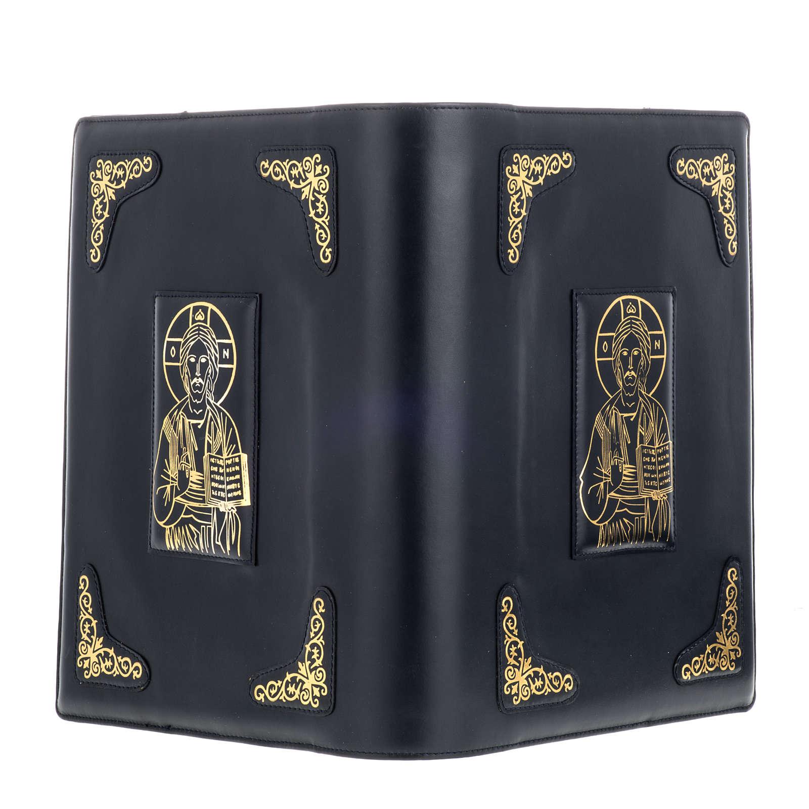 Copertina per messale romano nero stampa oro 4