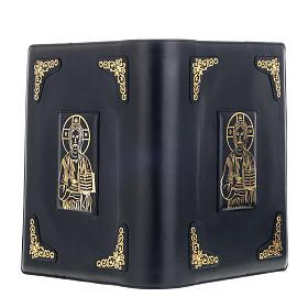 Copertina per messale romano nero stampa oro s4