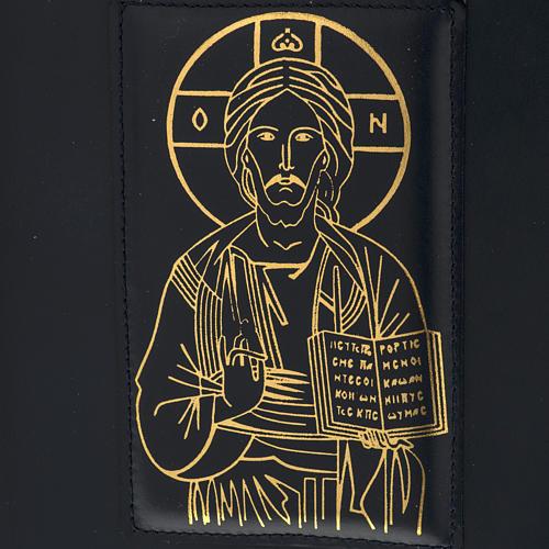 Copertina per messale romano nero stampa oro 3