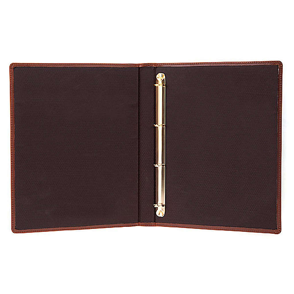 Brown Leather Folder for Sacred Rites 4