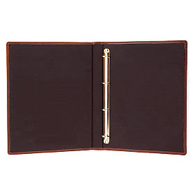Brown Leather Folder for Sacred Rites s3