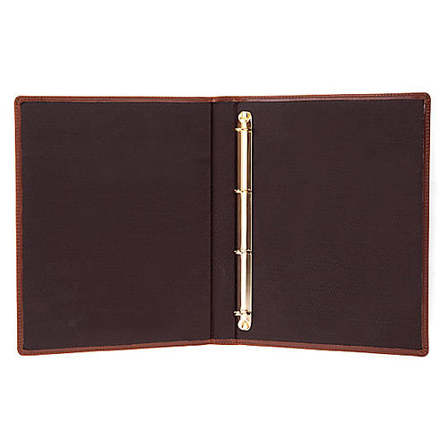 Brown Leather Folder for Sacred Rites 3