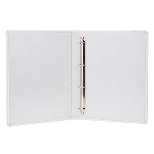 Capa livro rituais litúrgicos em couro branco 2