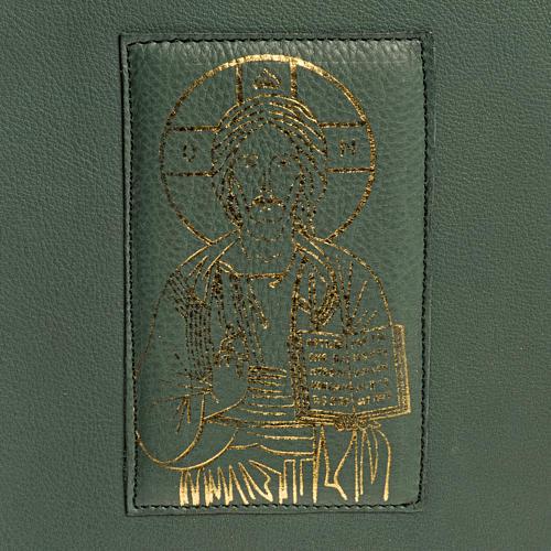 Copertina per messale romano verde stampa oro (NO III EDIZIONE) 4