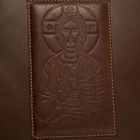 Dark Brown Lectionary Slipcase with Image of Christ s2
