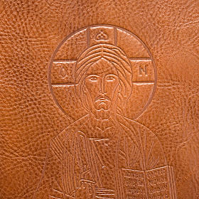 Genuine leather slipcase for Lectionary with Pantocrator s2