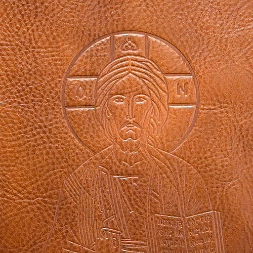 Genuine leather slipcase for Lectionary with Pantocrator 2