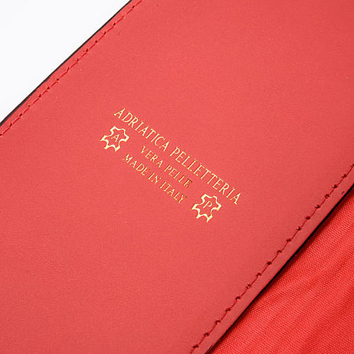 Red Leather Lectionary Slipcase with Alpha and Omega 2