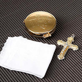 Pyx holder with included pyx for Communion s3