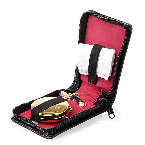 Pyx holder with included pyx for Communion 1