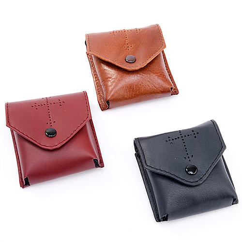 Pyx holder in real leather (Pyx included) 2
