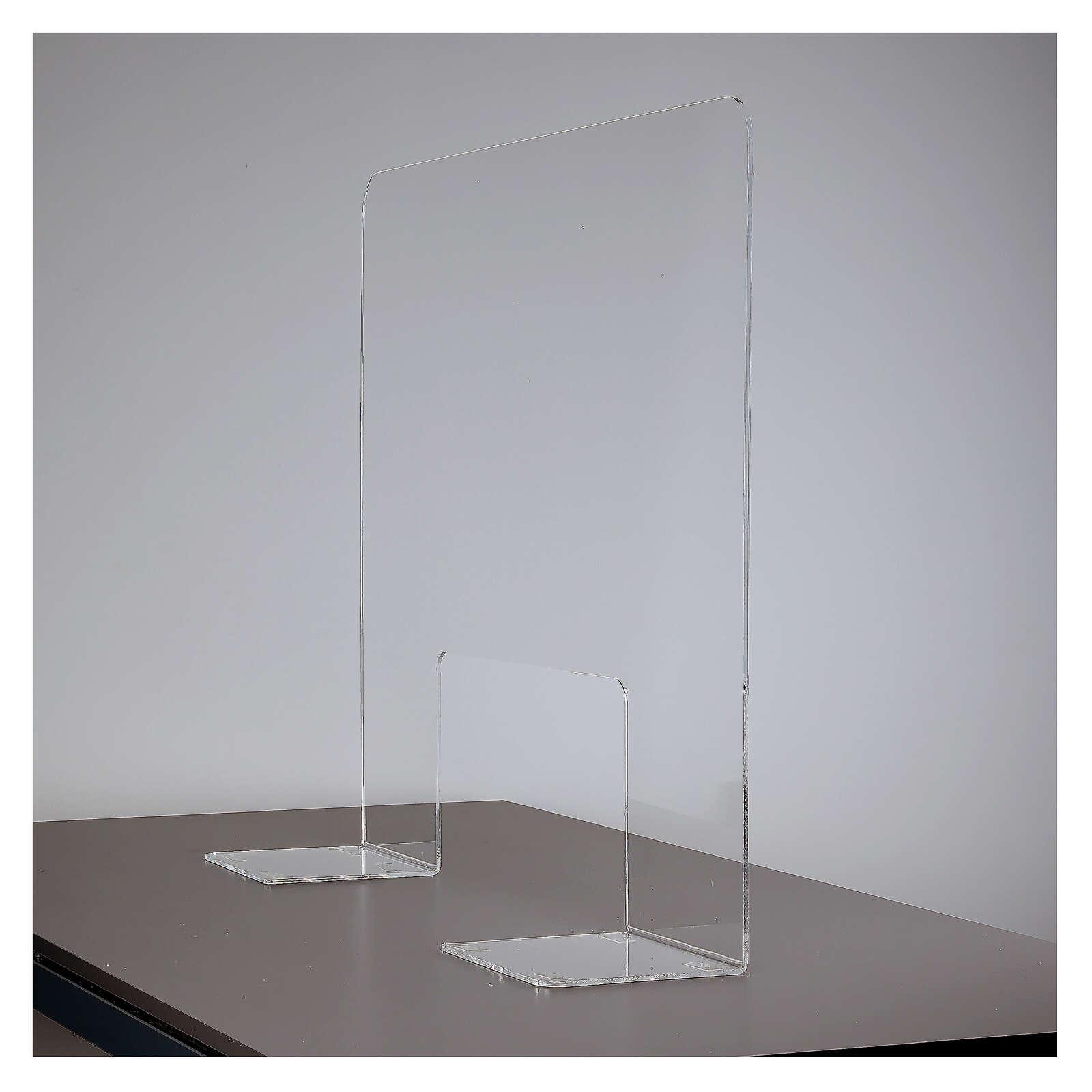 Plexiglass protection screen 65x100 cm thickness 8 mm 3