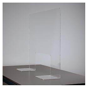 Plexiglass protection screen 65x100 cm thickness 8 mm s6