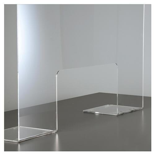 Plexiglass protection screen 65x100 cm thickness 8 mm 5