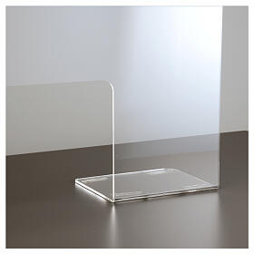 Pantalla protección plexiglás 65x100 cm espesor 8 mm s3