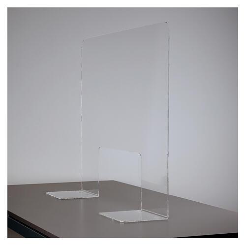 Pantalla protección plexiglás 65x100 cm espesor 8 mm 6