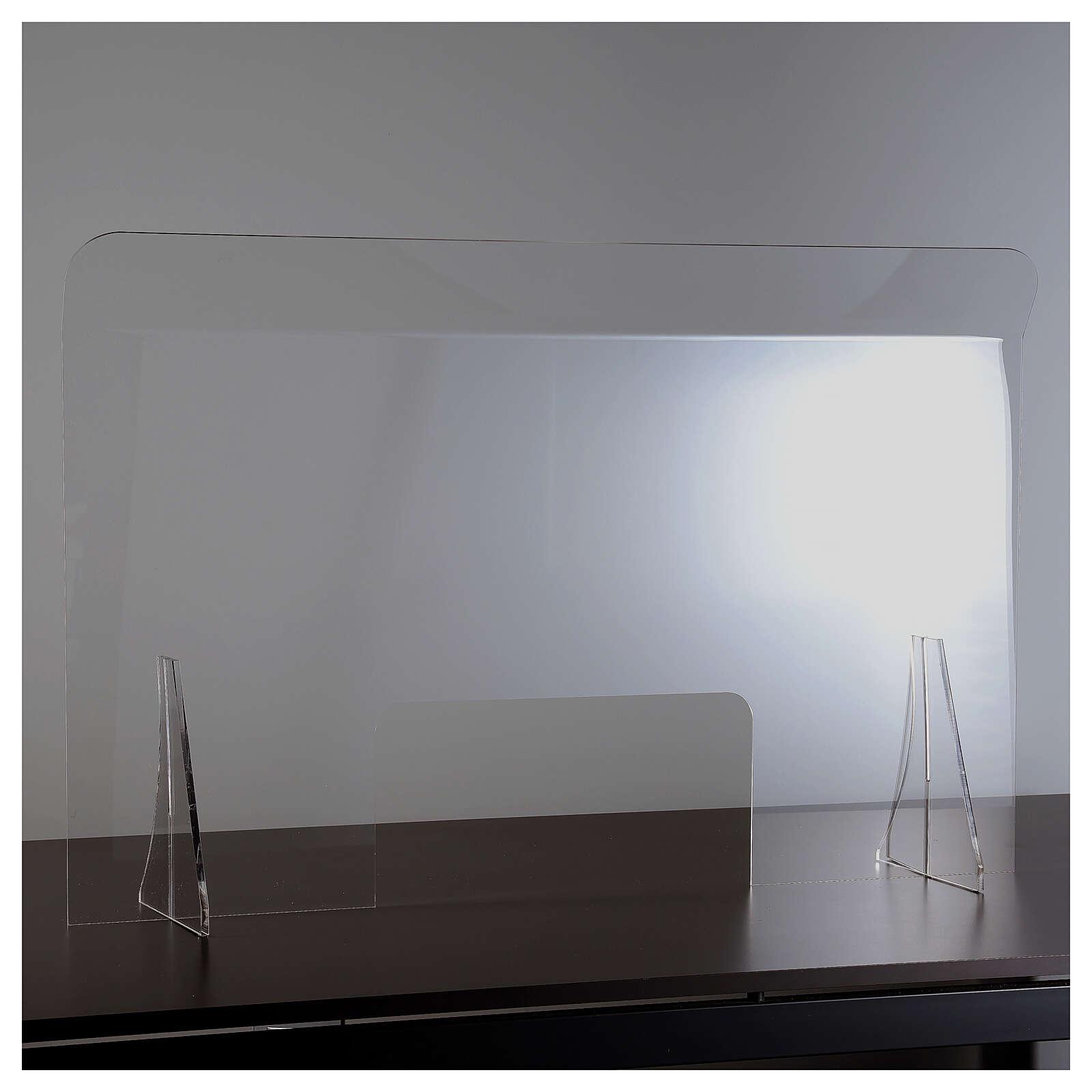 Schermo protezione plexiglass 65x100 cm spessore 8 mm 3