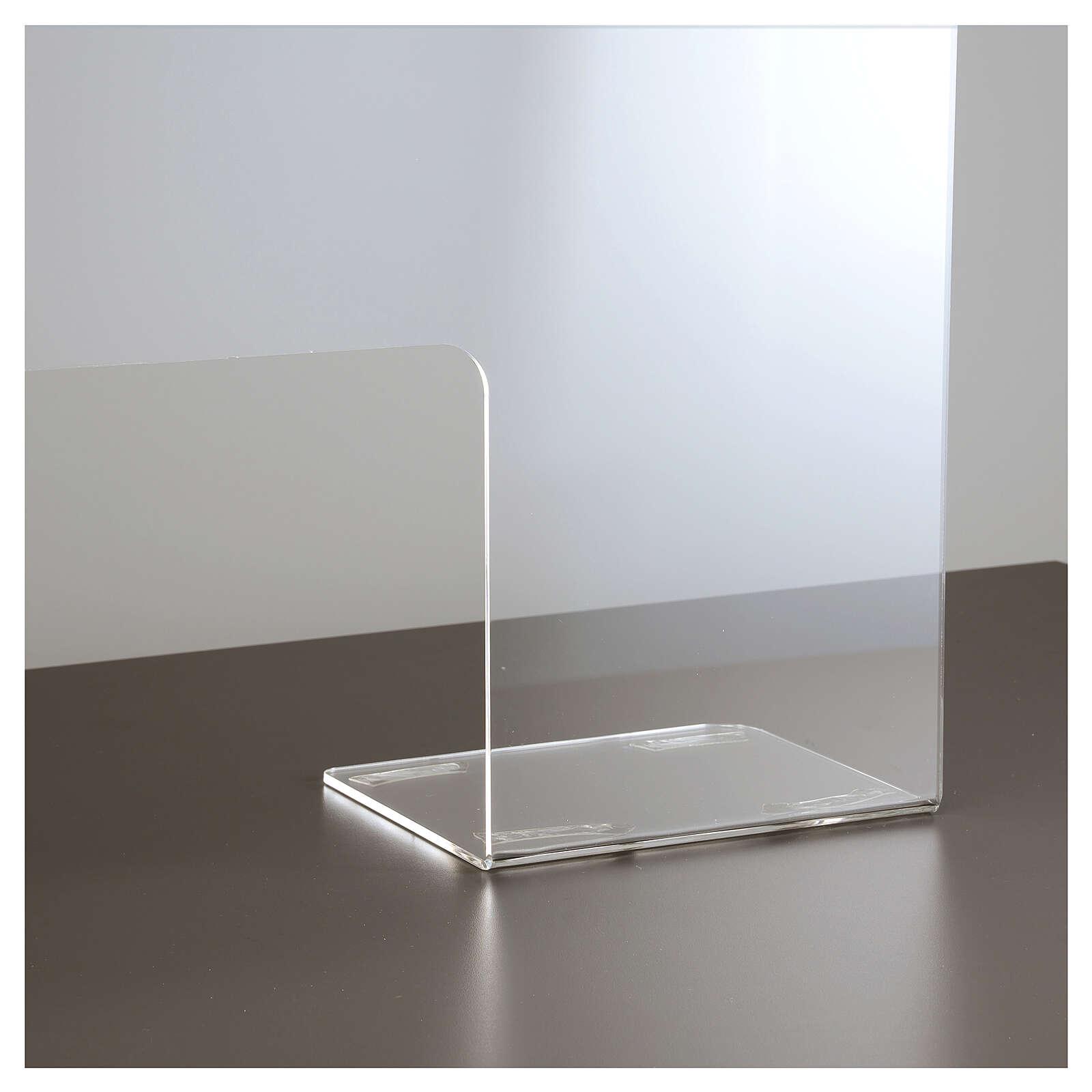 Protective Plexiglass shield 65x100 cm, thickness 8mm 3