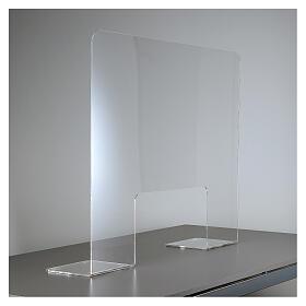 Protective Plexiglass shield 65x100 cm, thickness 8mm s2