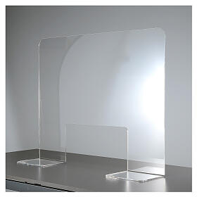 Protective Plexiglass shield 65x100 cm, thickness 8mm s4