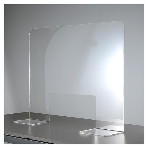 Protective Plexiglass shield 65x100 cm, thickness 8mm 4