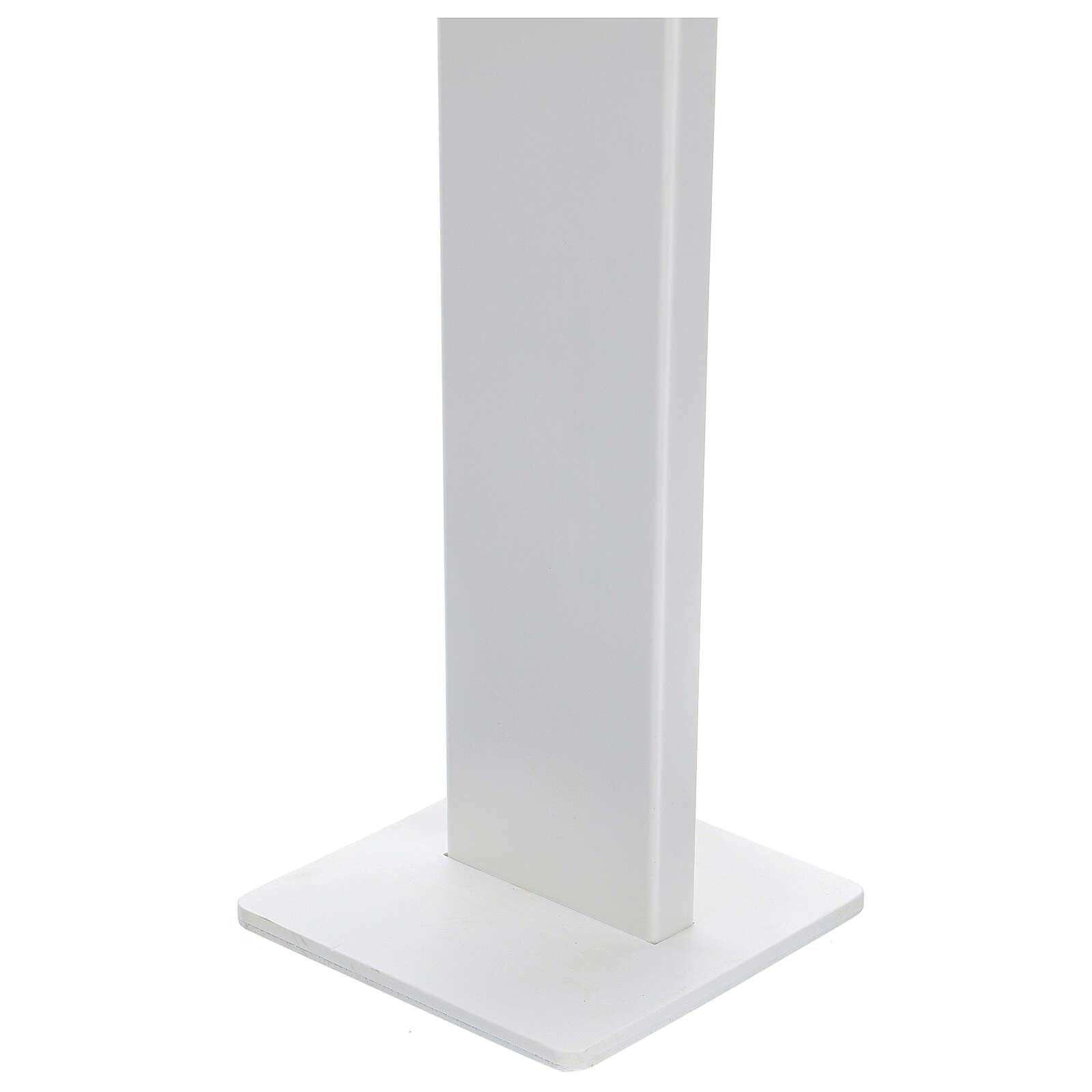 Porta Dispenser per disinfettante mani forex e plexiglass ESTERNO 3