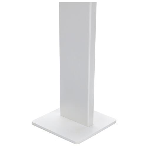 Porta Dispenser per disinfettante mani forex e plexiglass ESTERNO 5