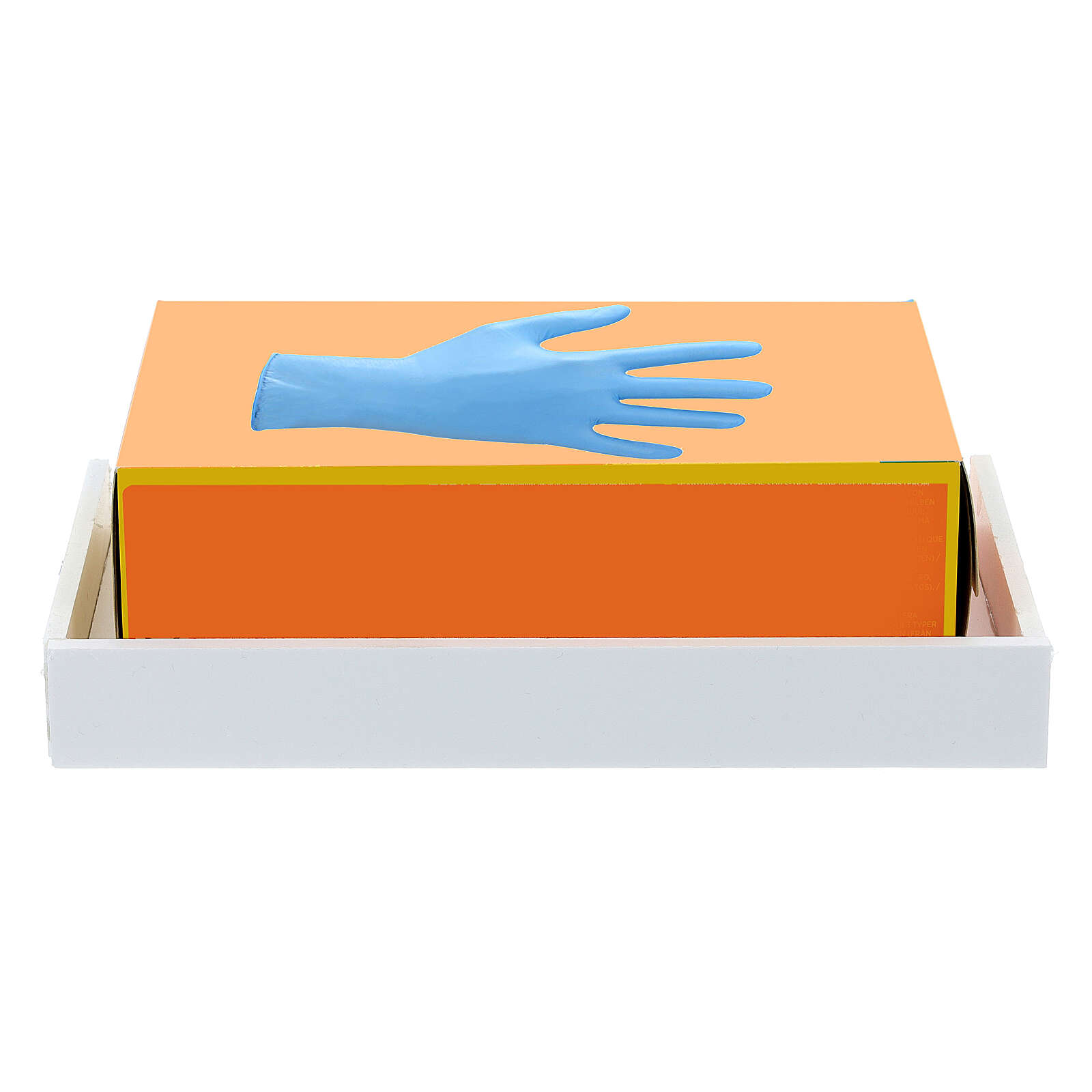 Estante para caja guantes 14x17 forex con tornillos para PF000003 3