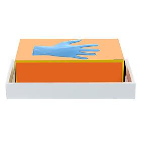 Mensola per scatola guanti 14x17 forex con viti per PF000003 s2