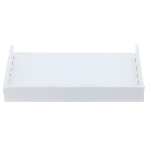 Estante para caixa de luvas 14x17 cm forex com parafusos para coluna PF000003 1