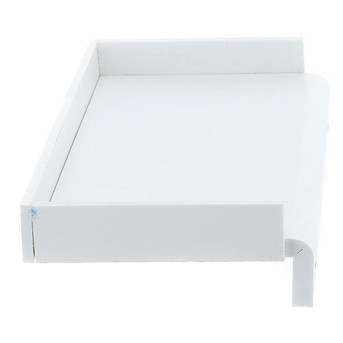 Estante para caixa de luvas 14x17 cm forex com parafusos para coluna PF000003 4