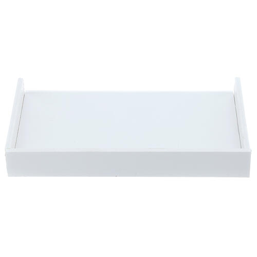 Shelf for medical glove box 14x17 cm, forex with screws for PF000003 1