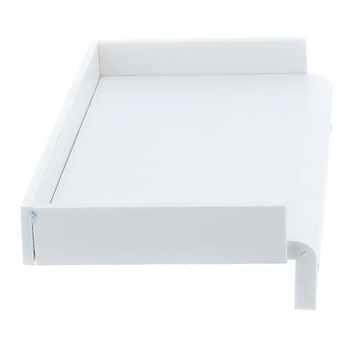 Shelf for medical glove box 14x17 cm, forex with screws for PF000003 4