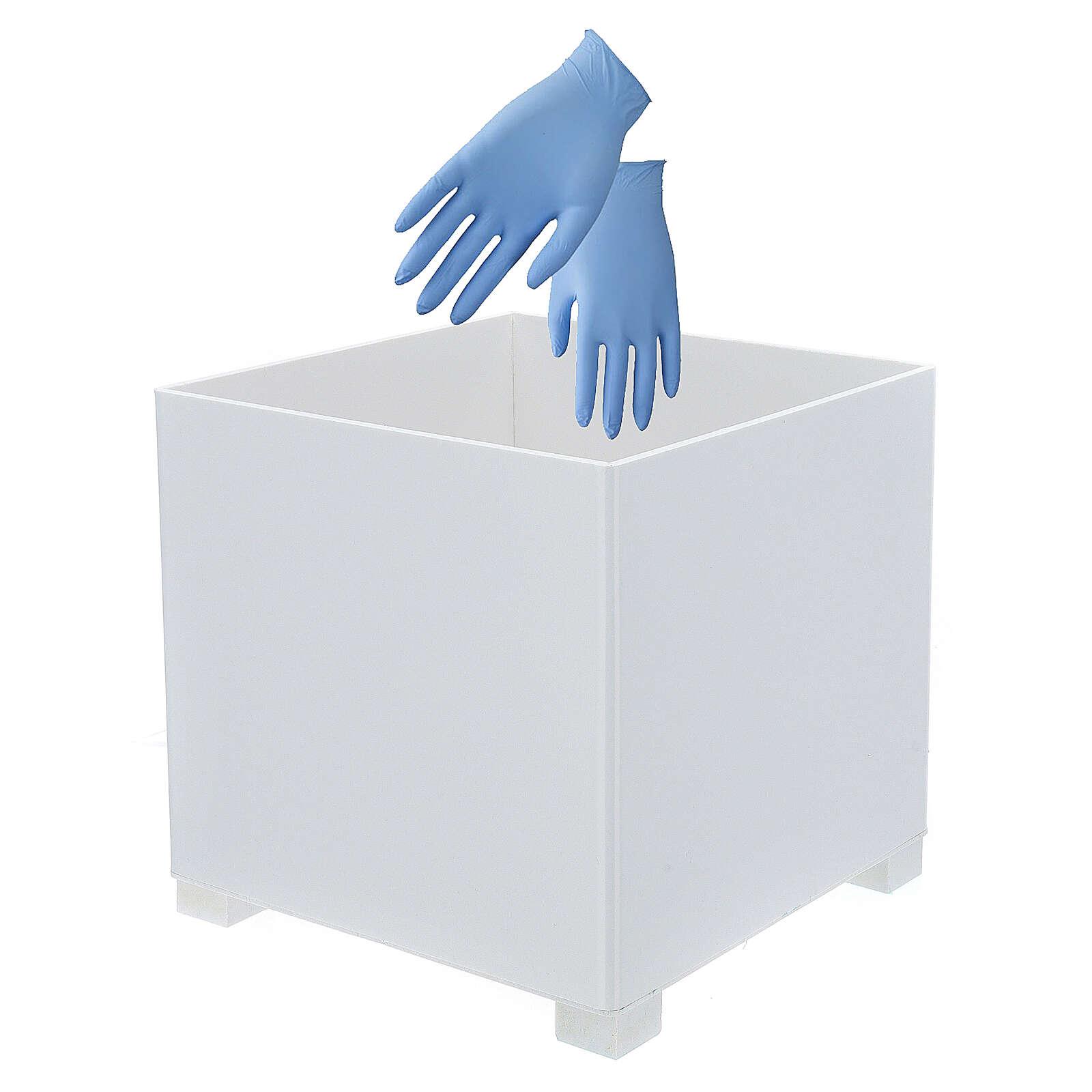 Cestino per guanti in forex per portadispenser PF000003 3