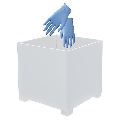 Cestino per guanti in forex per portadispenser PF000003 2