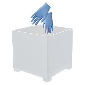 Waste bin for gloves in forex for dispenser PF000003 s2