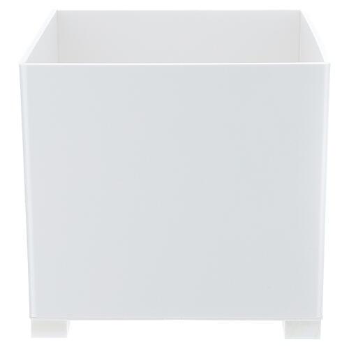 Waste bin for gloves in forex for dispenser PF000003 1
