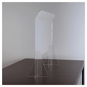 Plexiglass pane 98x100 window 20x40 cm s3