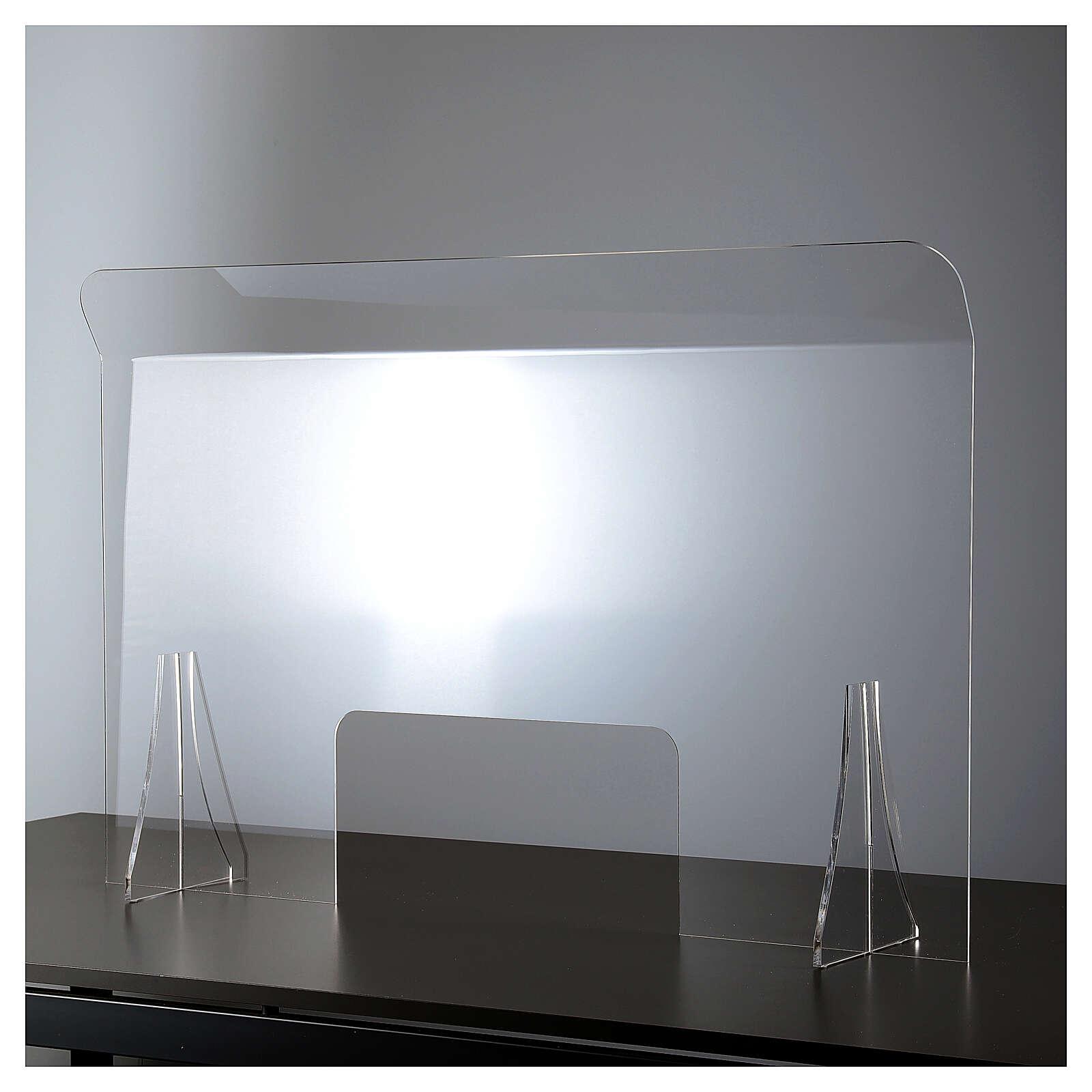Lastra parafiato plexiglass 98x100 finestra 20x40 3