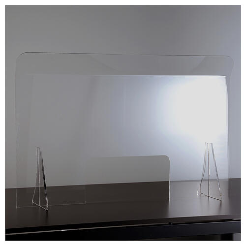 Lastra parafiato plexiglass 98x100 finestra 20x40 2