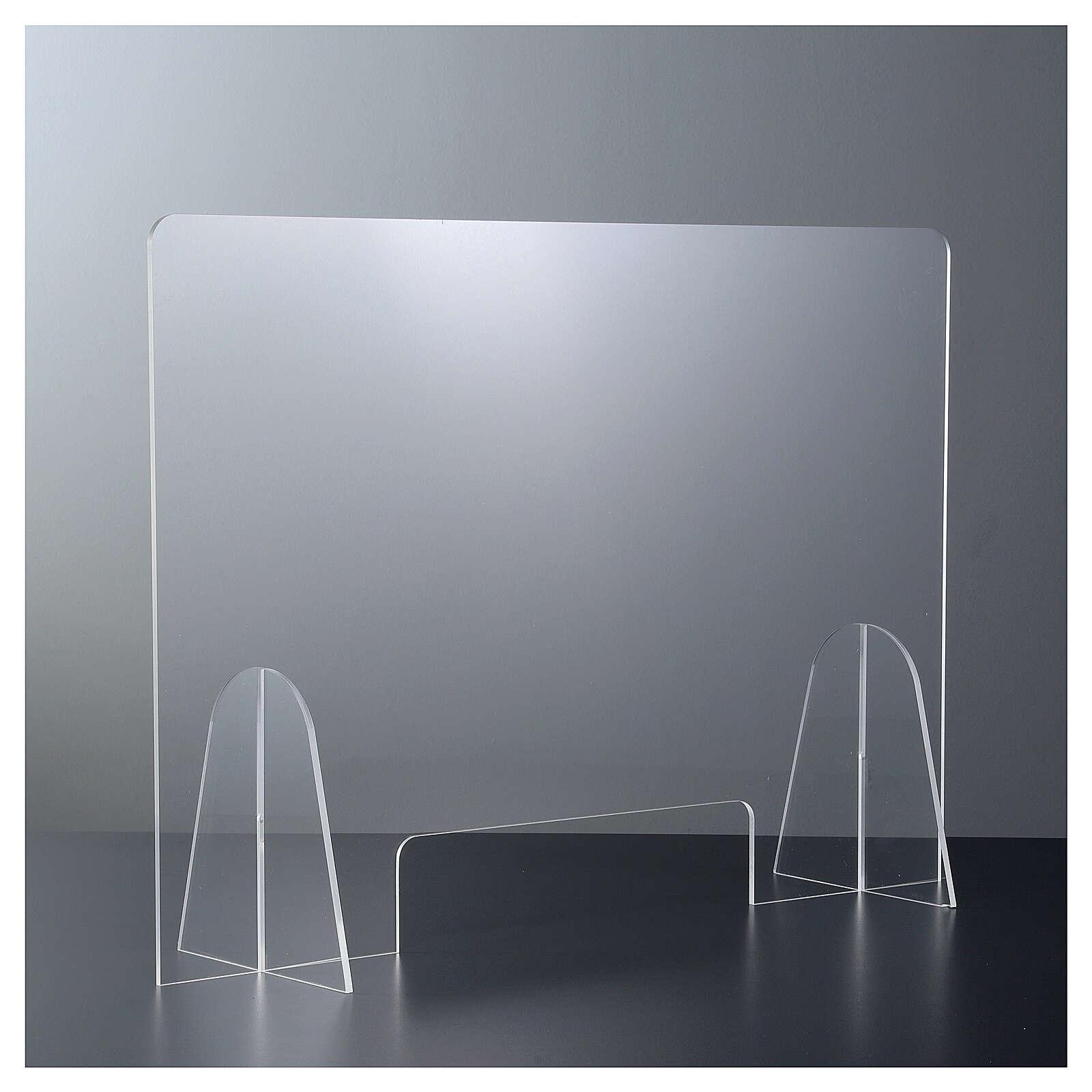Lastra parafiato plexiglass 50x70 finestra 15x30 3