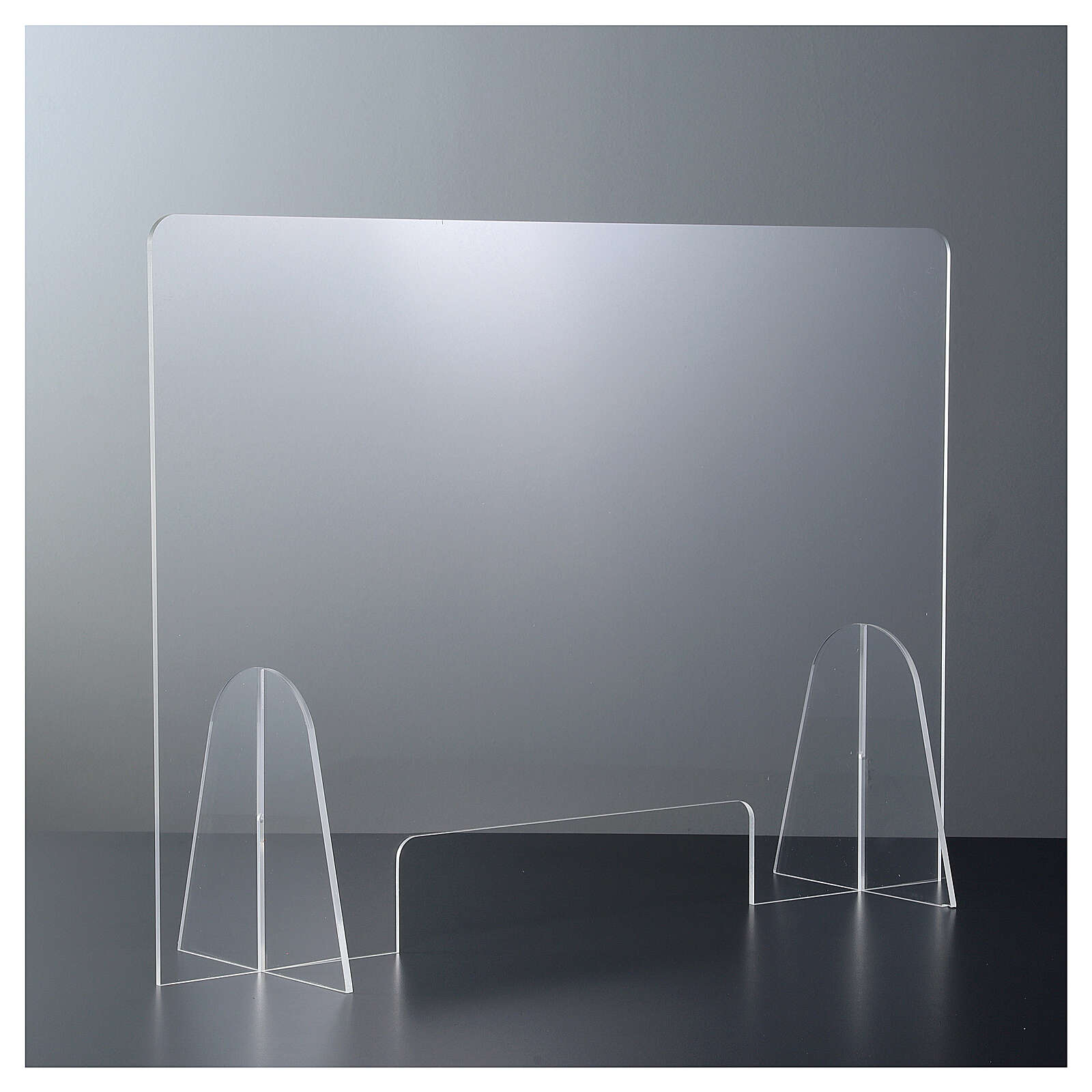 Ekran ochronny pleksiglas 50x70 okno 15x30 3