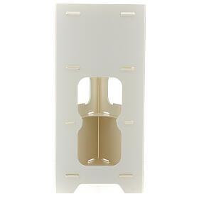 Totem porta dispenser gel igienizzante guanti e rifiuti s6