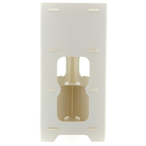 Totem porta dispenser gel igienizzante guanti e rifiuti 6