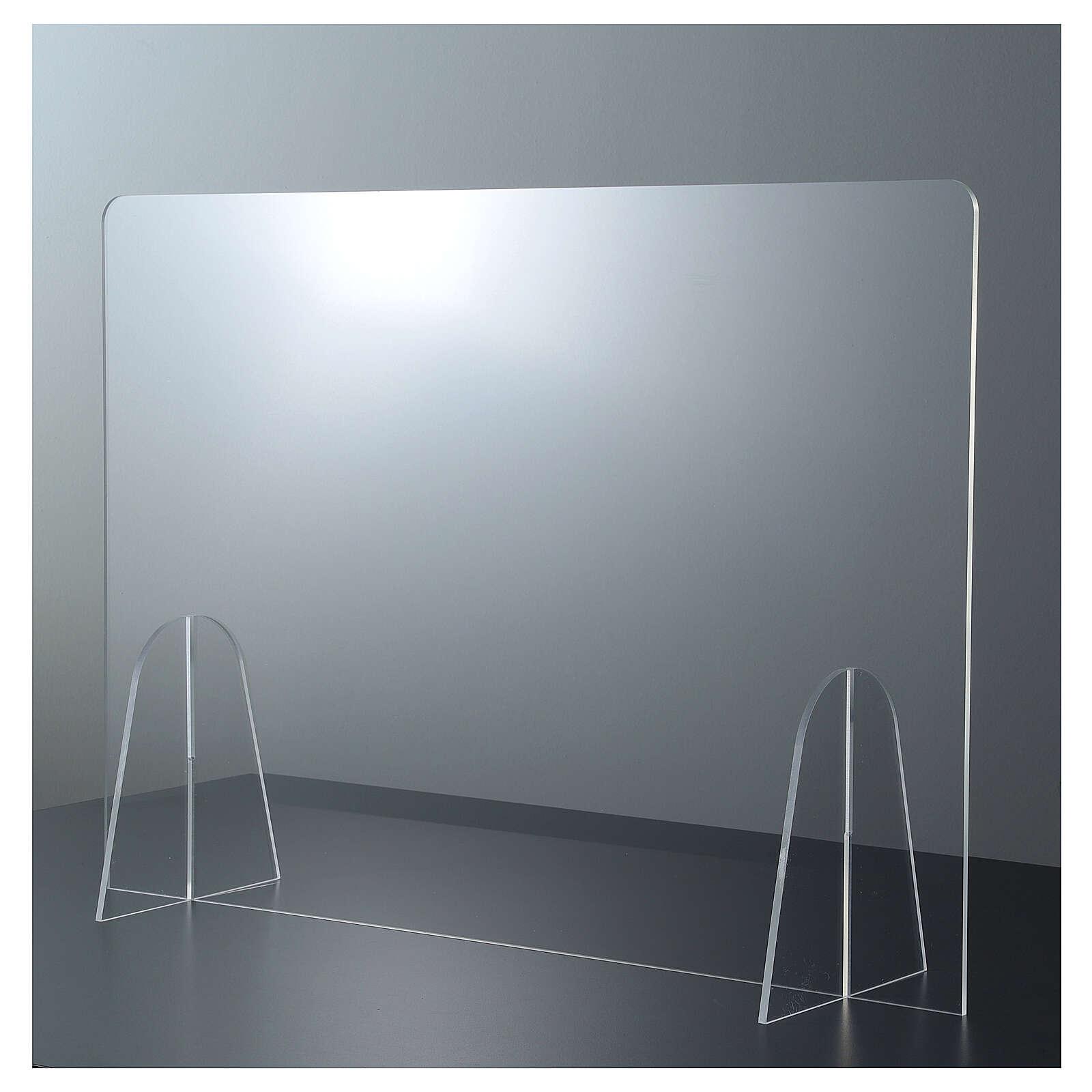 Parafiato da Tavolo Design Goccia in plexiglass h 50x70 3