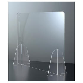 Parafiato da Tavolo Design Goccia in plexiglass h 50x70 s3