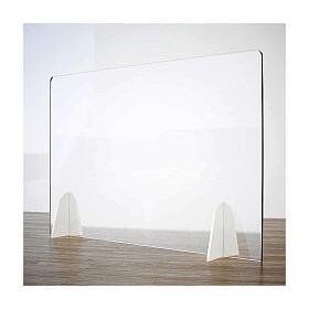 Divisorio parafiato Tavolo - Design Goccia linea krion h 50x70 s1