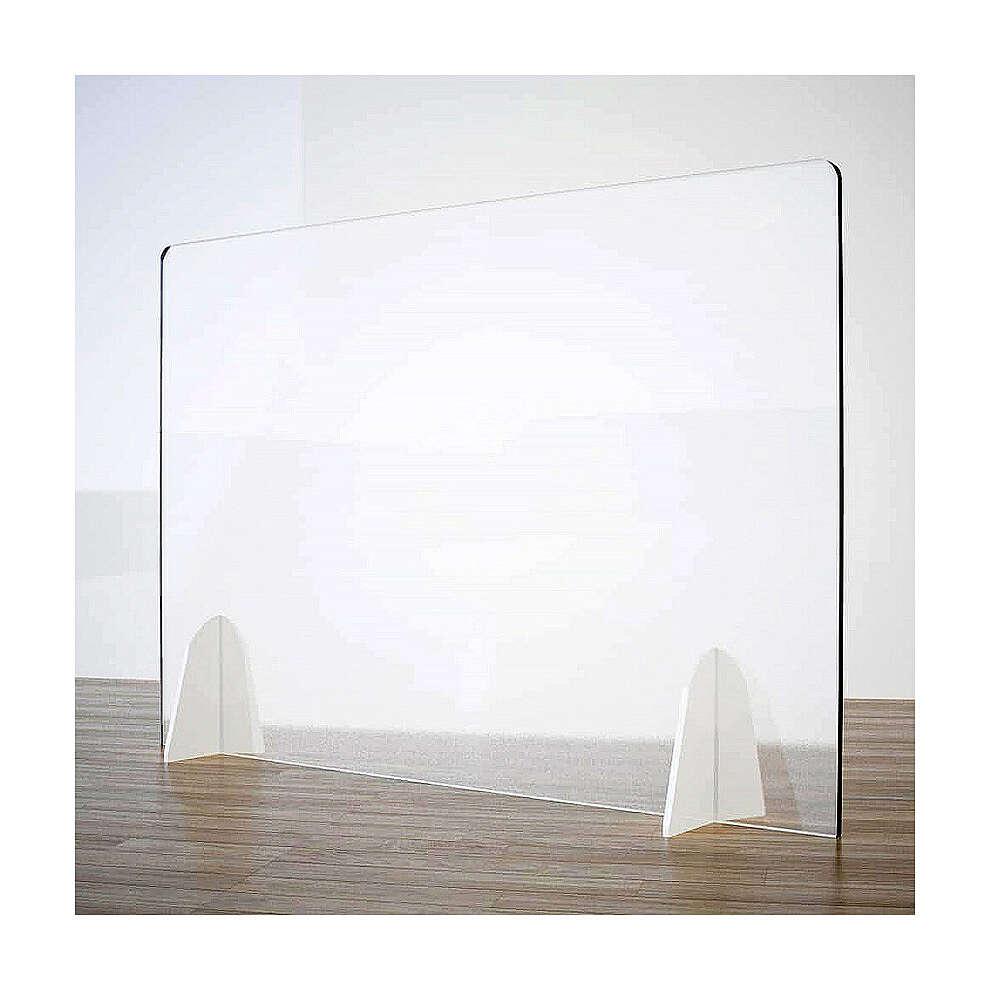 Barreira de proteção anti-contágio de mesa, linha Krion com Design Gota, 50x70 cm 3