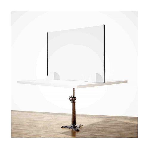 Barreira de proteção anti-contágio de mesa, linha Krion com Design Gota, 50x70 cm 2